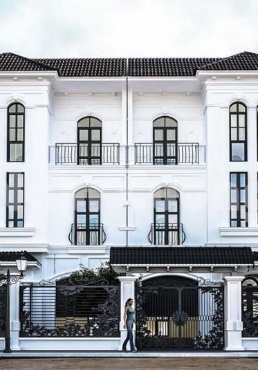 Chiêm ngưỡng vẻ đẹp của biệt thự song lập 3 tầng Vinhomes Hải Phòng