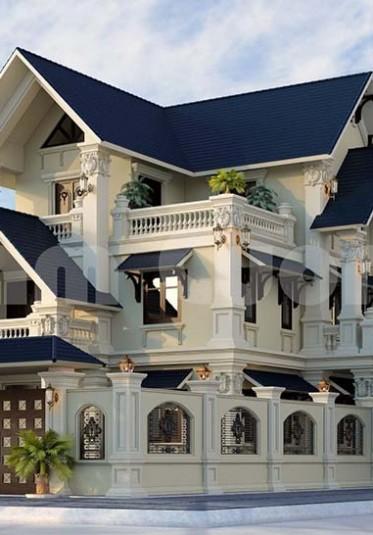 Mục sở thị căn biệt thự tân cổ điển 3 tầng kiến trúc Pháp