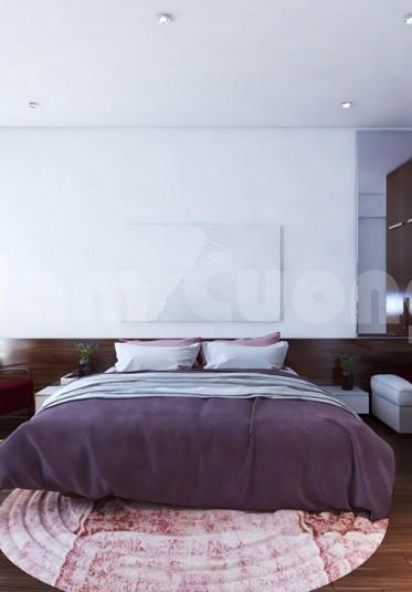 Hai phòng ngủ trong mẫu thiết kế văn phòng làm việc