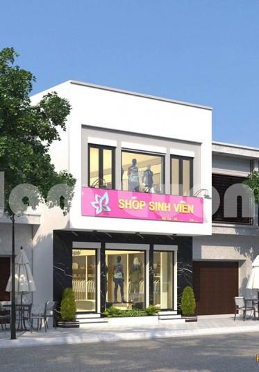 Thiết kế shop quần áo sinh viên - CĐT Nguyễn Ngọc Tuấn