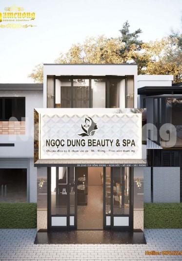 Thiết kế salon tóc và spa chăm sóc sắc đẹp - CĐT Nguyễn Ngọc Tuyên