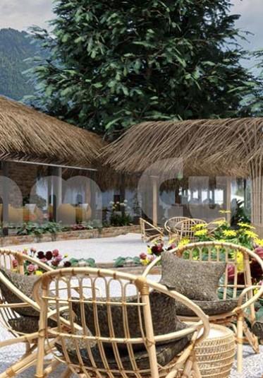 Thiết kế quán cafe mộc tạo không gian thư thái cho khách hàng