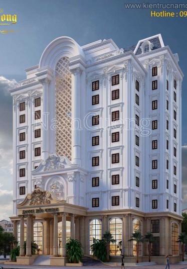Tuyển tập thiết kế khách sạn 4 sao đẹp