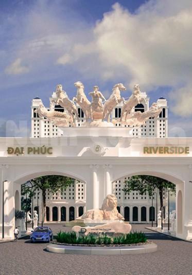 Mẫu thiết kế cổng chào khu đô thị Đại Phúc - KĐT 001