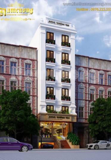 Thiết kế khách sạn tân cổ điển đẹp tại Hải Phòng - KSCD 002
