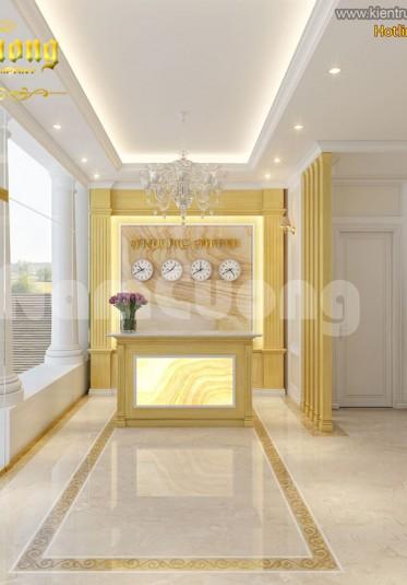 Mẫu thiết kế nội thất khách sạn mini hiện đại tại Hà Nội