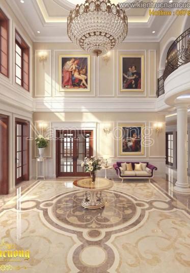 Thiết kế sảnh khách sạn 2 sao sang trọng tại Hải Phòng