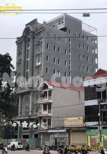 Thi công khách sạn tân cổ điển tại Lạng Sơn