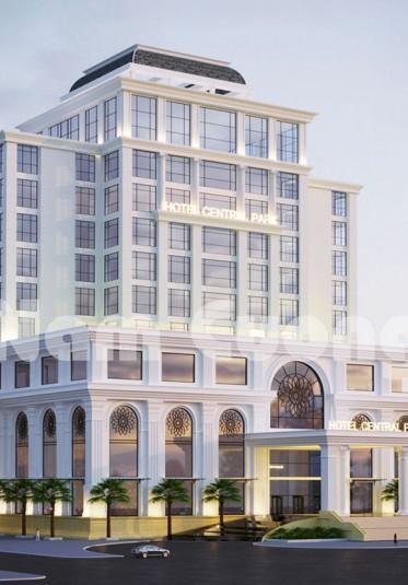 Mẫu thiết kế khách sạn 5 sao 11 tầng đạt chuẩn