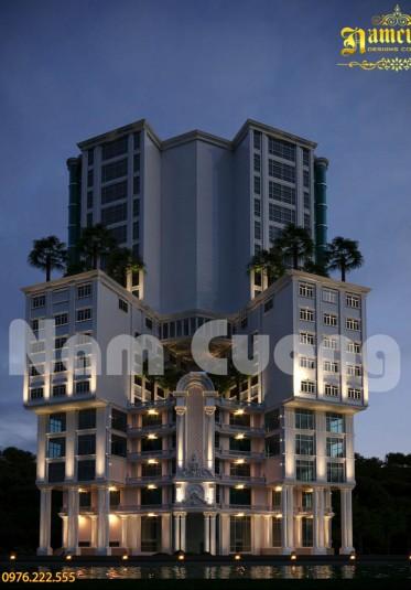 Ấn tượng với mẫu thiết kế khách sạn siêu độc - siêu đẹp