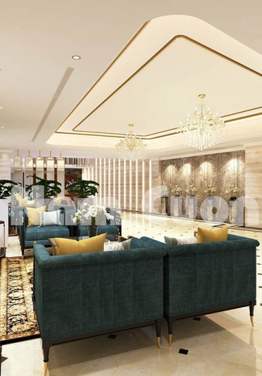 Mẫu nội thất khách sạn tân cổ điển ấn tượng tại Đà Lạt