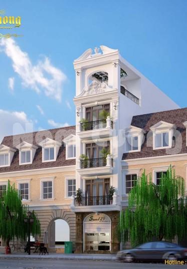 Thiết kế kiến trúc nhà ở kết hợp kinh doanh khách sạn