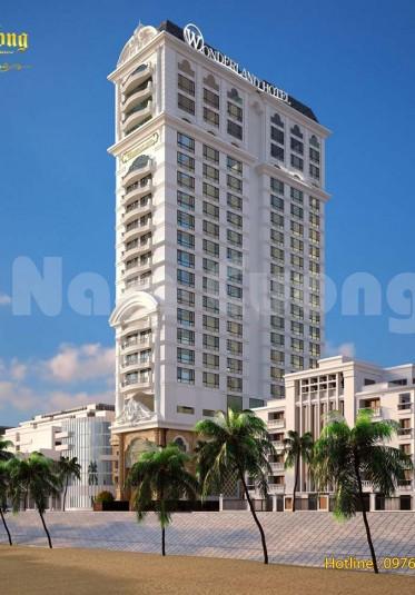 Hoàn thành thiết kế kiến trúc khách sạn tân cổ điển 21 tầng tại Sài Gòn
