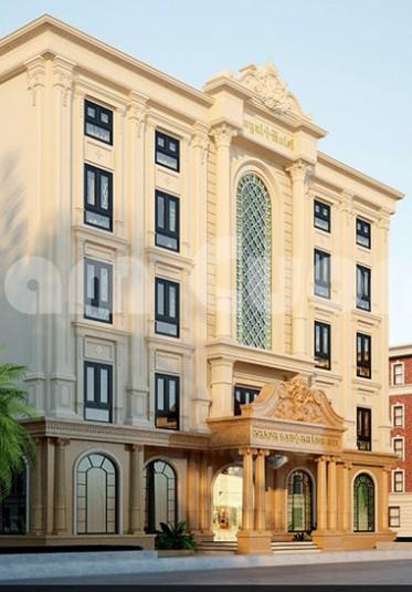 Mẫu thiết kế khách sạn tân cổ điển 5 tầng