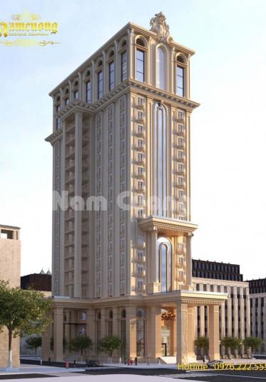 Mẫu thiết kế khách sạn tân cổ điển cao cấp tại Sài Gòn