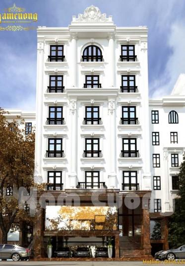 Thiết kế khách sạn tân cổ điển đạt chuẩn 3 sao tại Quảng Ninh