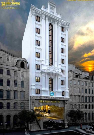 Tham khảo mẫu thiết kế nhà ở kết hợp kinh doanh 11 tầng - TNCD 001
