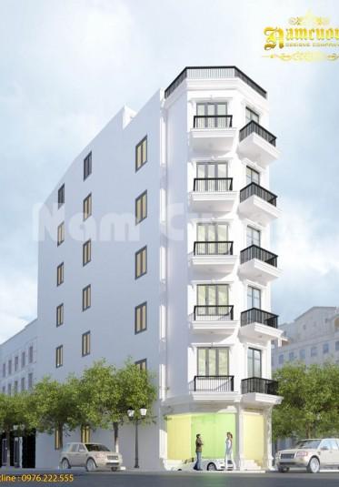 Phương án 2 trong mẫu thiết kế căn hộ cho thuê tại Sài Gòn