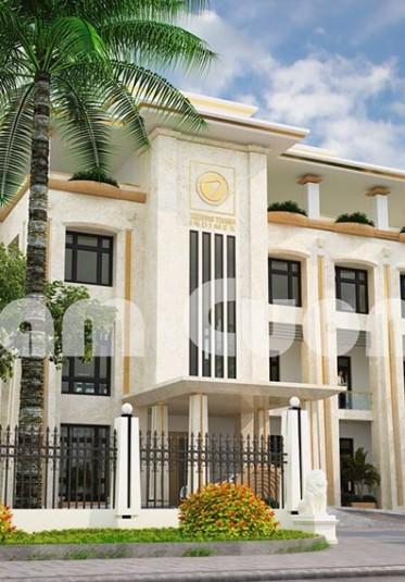Thiết kế trụ sở văn phòng làm việc tại Quảng Bình - TSLV 001
