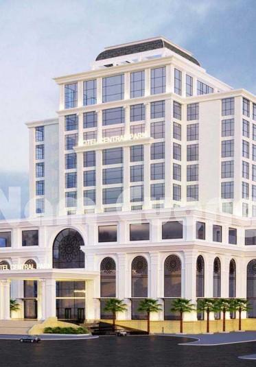 Thiết kế khách sạn mặt tiền đẹp