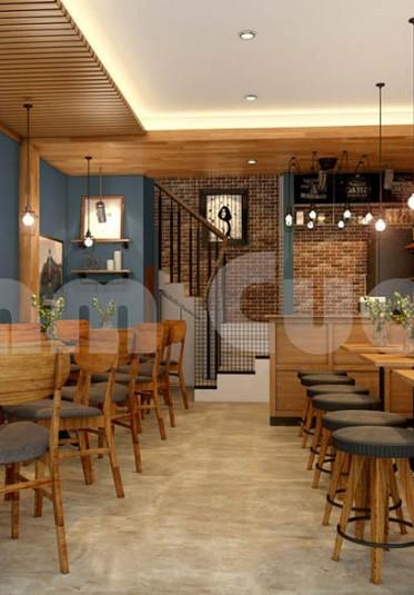 Quán cafe ấn tượng giữa lòng thành phố Cảng