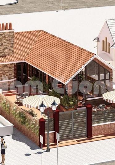 Thiết kế quán cafe yên tĩnh với không gian xưa tại Hải Phòng - CFCD 001