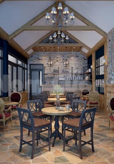 Thiết kế quán cafe mộc mạc, yên tĩnh với không gian cổ xưa