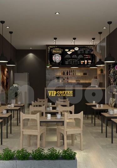 Mộc mạc với không gian nội thất quán cà phê tại Hải Phòng