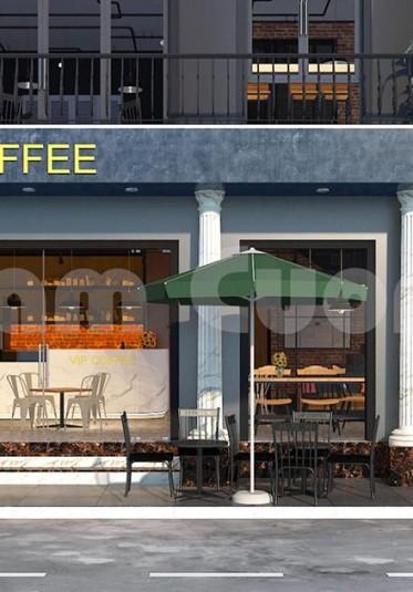 Thiết kế quán cafe VIP chi nhánh Ngô Quyền-Hải Phòng