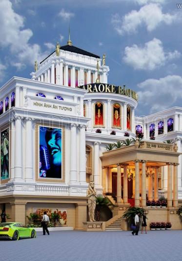 Thiết kế quán karaoke tân cổ điển Bảo Trang tại Quảng Ninh