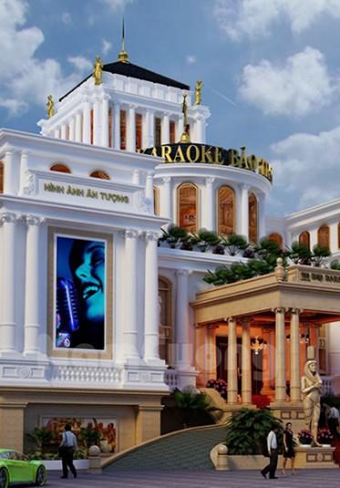 Thiết kế tổ hợp karaoke tân cổ điển tại Quảng Ninh - KROK 001
