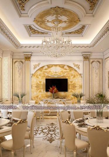 Phòng ăn khách sạn tân cổ điển