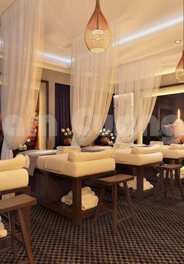 Xao xuyến với vẻ đẹp ấn tượng trong mẫu thiết kế spa tại Hải Phòng