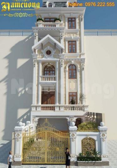 Tổng hợp những mẫu thiết kế nhà ống 5 tầng đẹp