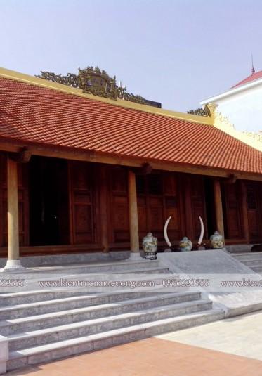 Thiết kế nhà thờ 5 gian hình chữ Nhất tại Hải Dương - NTH 003