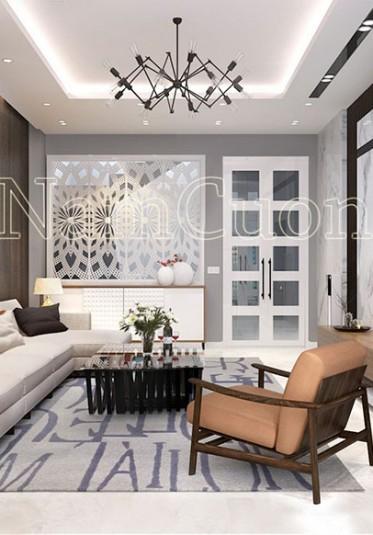 Thiết kế nội thất biệt thự hiện đại 70m2 tại Hà Nội
