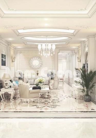 Thiết kế nội thất biệt thự mini phong cách tân cổ điển tại Hải Phòng
