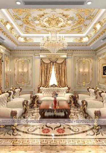 Tất tần tật thông tin về thiết kế nội thất biệt thự phong cách cổ điển