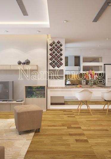 Những mẫu nội thất chung cư hiện đại đẹp nhất hiện nay