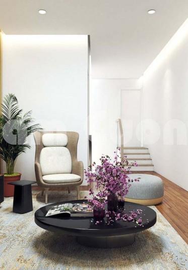 Không gian nội thất nhà ống 2 tầng 4x20m đẹp