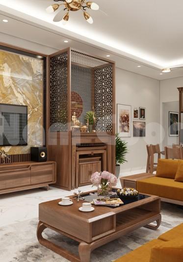 Thiết kế nội thất nhà phố hiện đại 5x17m