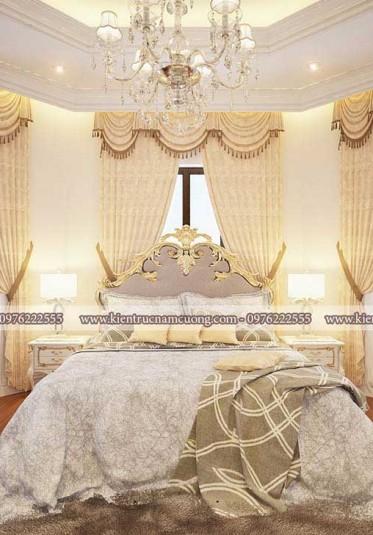 Gợi ý những mẫu nội thất phòng ngủ biệt thự lâu đài cực đẹp