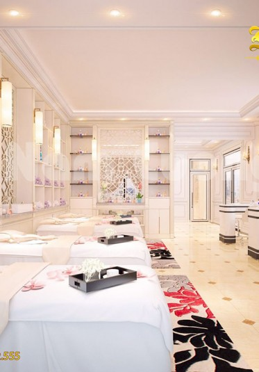 Thiết kế nội thất spa mini tại Quảng Ninh - NTSP 002