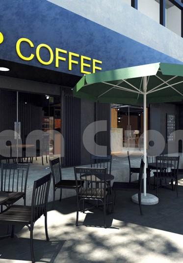 Thiết kế nội thất quán cafe VIP cơ sở thành phố Hồ Chí Minh