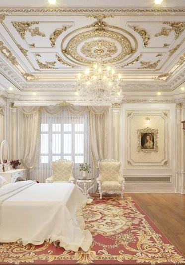 Thiết kế nội thất phòng ngủ tân cổ điển tại Hải Phòng - NTTCD 007