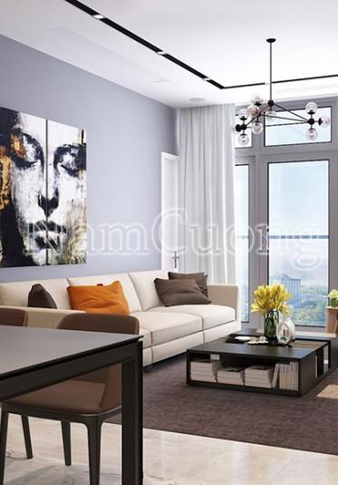 Sống hiện đại với mẫu thiết kế nội thất dành cho căn hộ chung cư tại Hà Nội - CCHD 011