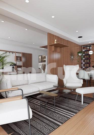 Thiết kế nội thất chung cư hiện đại sang trọng tại Hà Nội