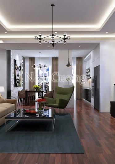Thiết kế nội thất biệt thự hiện đại đẹp tại Hải Phòng - NTBTHD 004