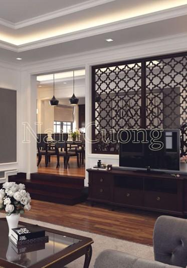 Mẫu thiết kế nội thất biệt thự hiện đại tại Hải Phòng - NTBTHD 009