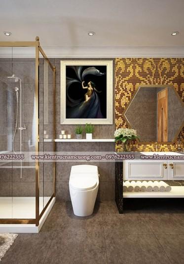 Mẫu thiết kế nội thất biệt thự tân cổ điển đẹp tại Quảng Ninh - NTBTCD 043